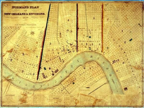 Maps Louisiana Historical Center Louisiana State Museum - Historic maps louisiana
