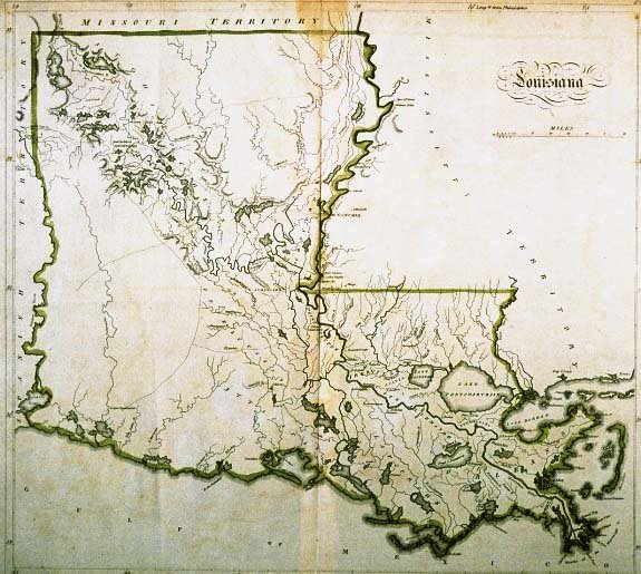 The Map As History - Map of state of la
