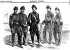 depiction of the Second Louisiana Colored Regiment, 1863