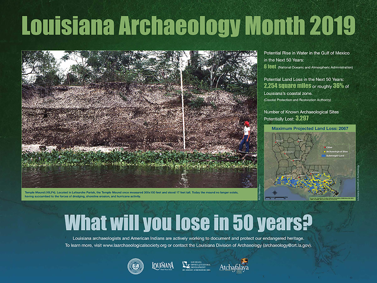 Click to view full size Archaeology Month Poster 2019