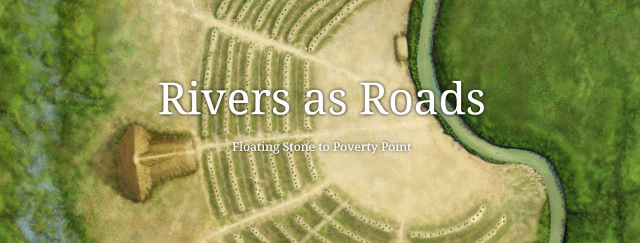 Rivers as Roads to Poverty Point logo