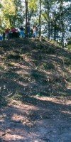Archaeological coring of Livonia Mounds Site in Pointe Coupee Parish.