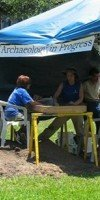 University of New Orleans regional archaeology project at the Old U.S. Mint reveals foundation of colonial Fort St. Charles.