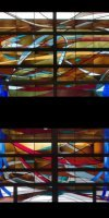 Stained Glass Windows by Sam Corso - Claiborne Bldg Baton Rouge