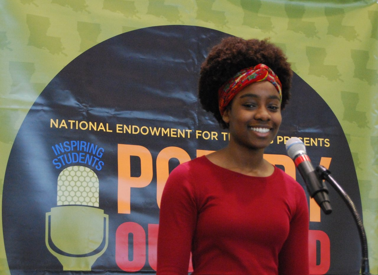 Poetry Out Loud 2019 Louisiana State Champ - Gianina Ndiaye