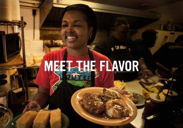 Meet The Flavor logo