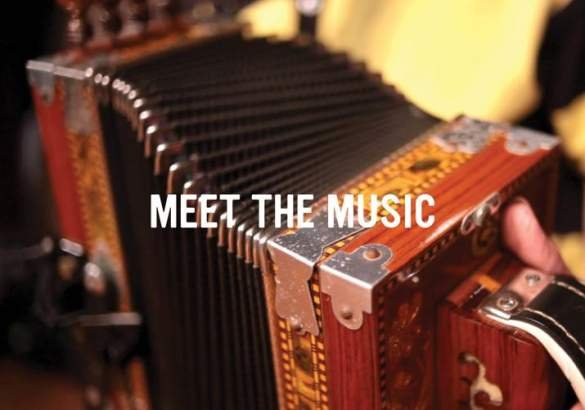 Meet the music logo