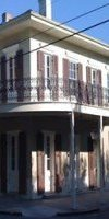 This residence on Royal Street in New Orleans was successfully rehabilitated using the Residential Tax Credit Program.