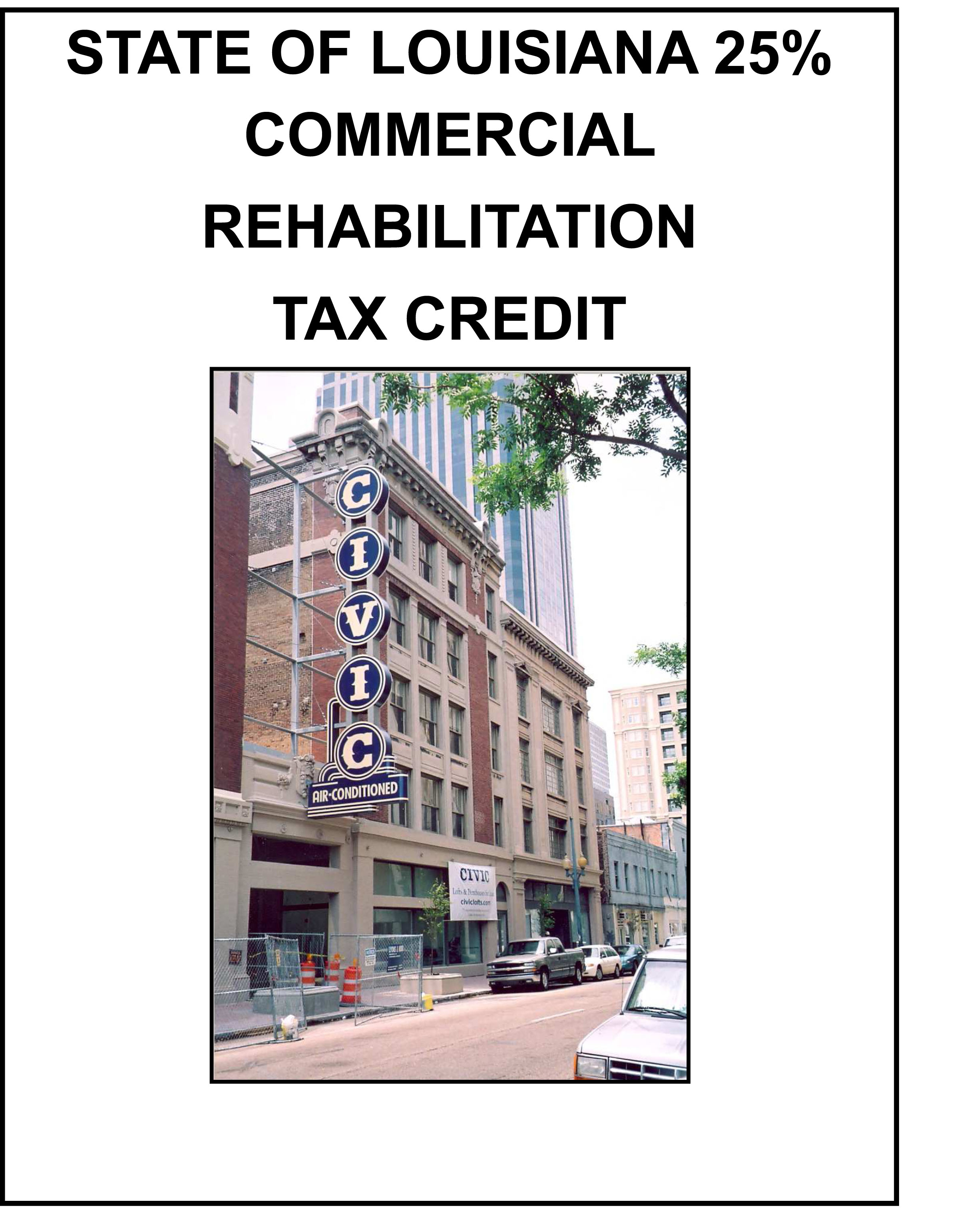 State commercial tax credit division of historic preservation state commercial tax credit program guidelines state commercial guidelines spiritdancerdesigns Choice Image