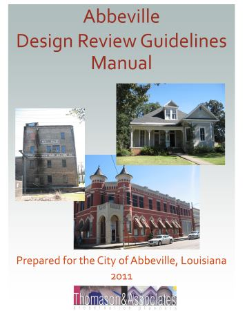 Abbeville Design Guidelines