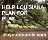 Play Outdoors Louisiana promotion logo