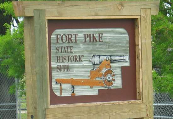Fort Pole State Historic Site sign