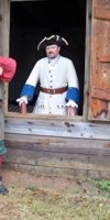 Re-enactors in period clothing