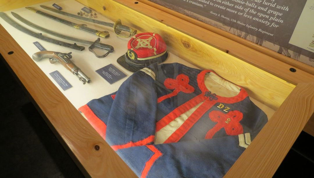 Civil War-era artifacts related to the Battle of Mansfield