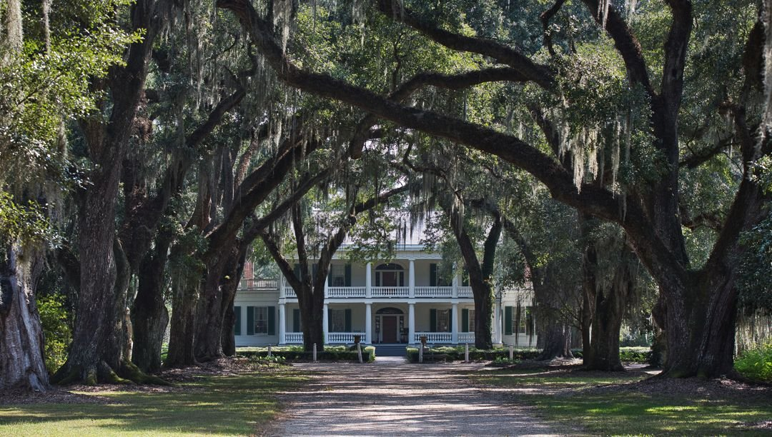 Main house of Rosedown Plantation