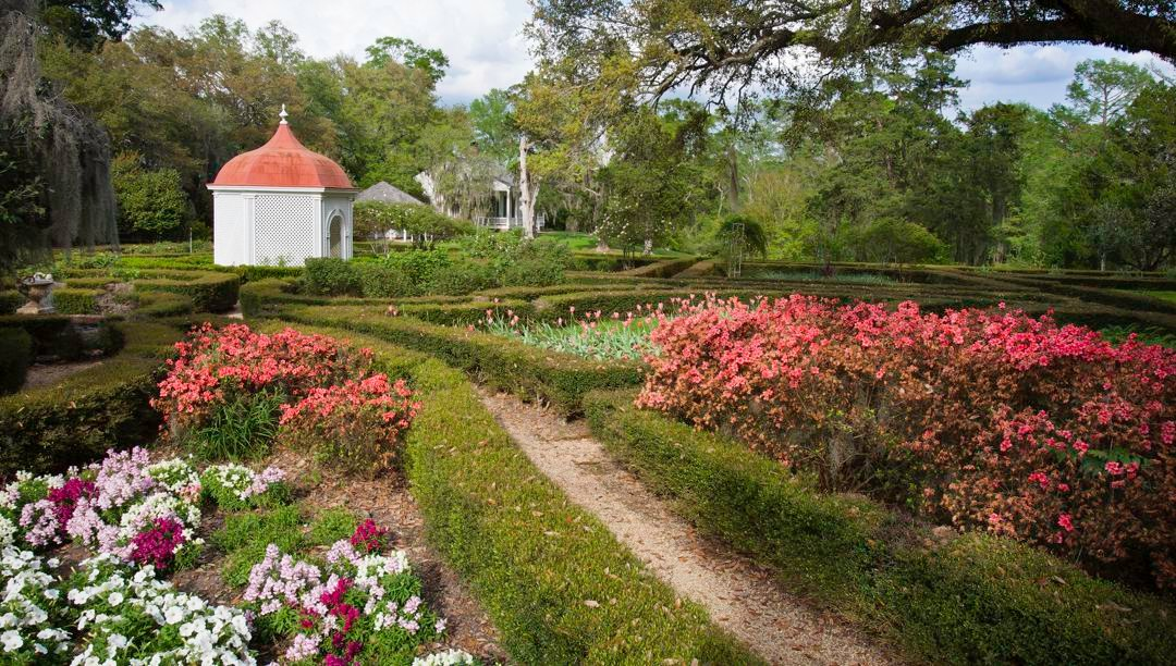 Rosedown's gardens spread over 26 acres at their largest