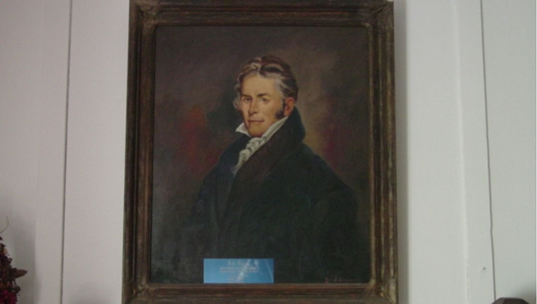 Portrait of Job Routh
