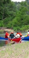 Canoeing on the Bogue Chitto River