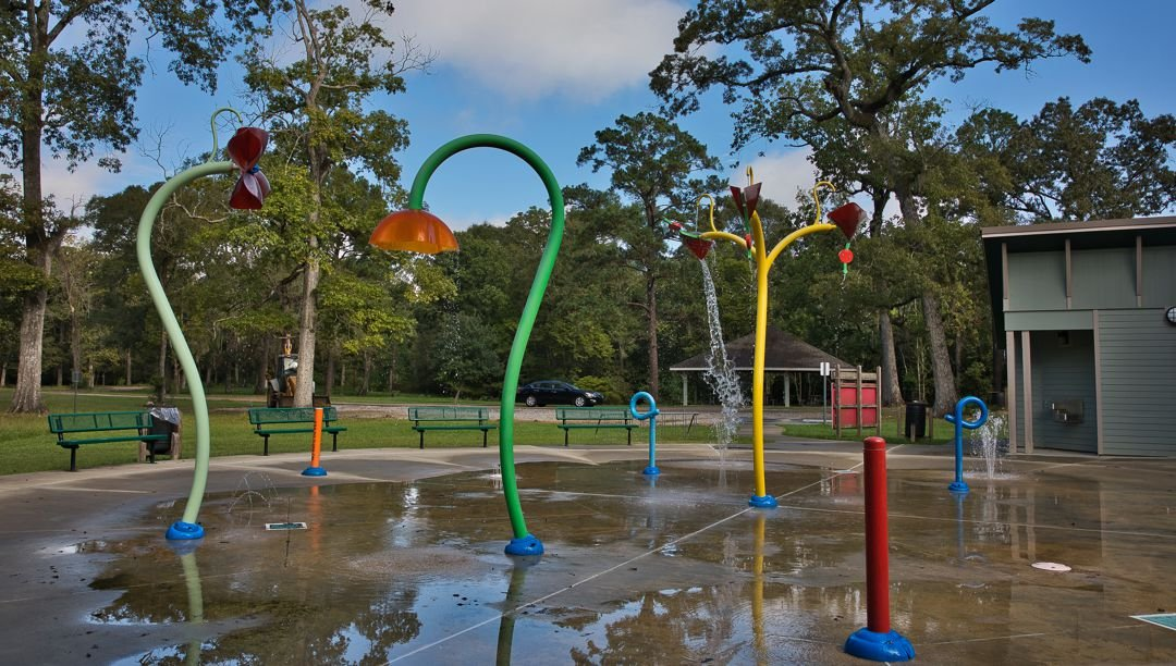 Water Playground at Chicot State Park