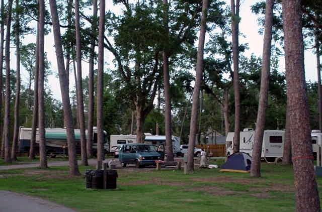 Otis House Dining Room RV Campground
