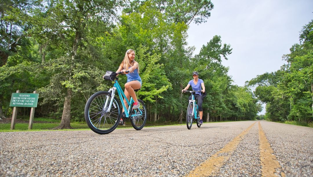 Tammany Trace walking and biking trail