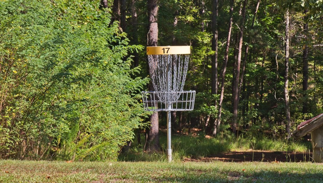 Lake Claiborne offers a double course, with 36 baskets