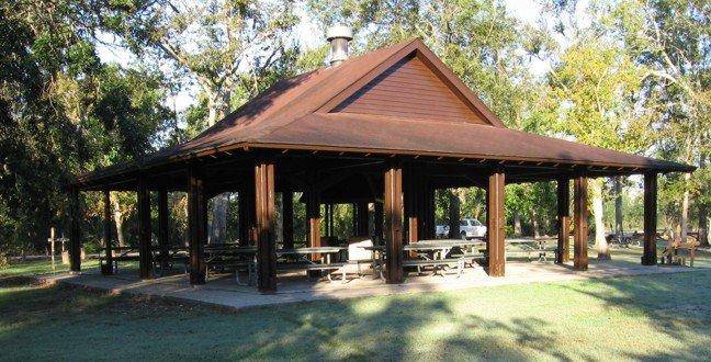 Bernard State Park Large Picnic Pavilion