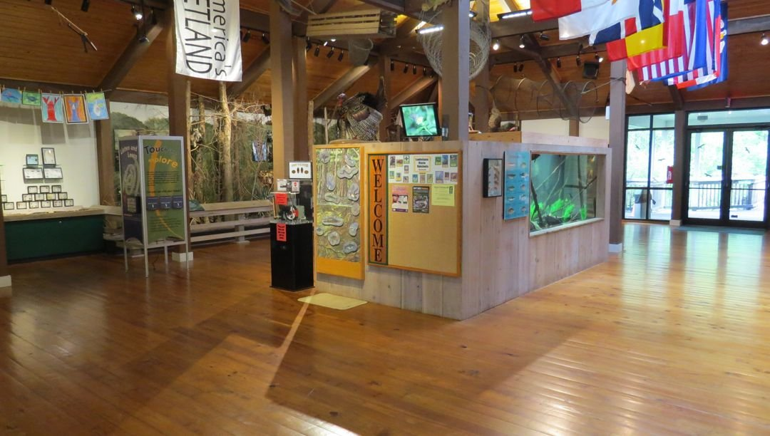 Exhibits of the nature center