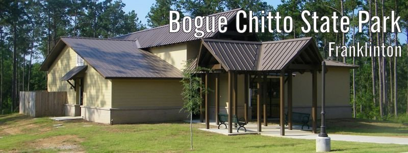 Exterior image of Bogue Chitto's 150-person capacity meeting room