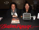 Joanne Scalamogna, Canadian rep for the Louisiana Office of Tourism (left) and Ren�e Areng with Visit Baton Rouge (right).