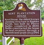 Kent House historical marker
