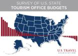 Cover of the Survey of U.S. State Tourism Office Budgets by the U.S. Travel Association