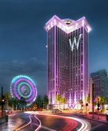 Artist rendering of proposed World Trade Center redevelopment project at the base of Canal Street