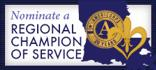 Volunteer Louisiana - Americorps Regional Champion of Service