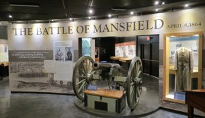 Renovated displays at the Mansfield State Historic Site
