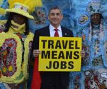 Lt. Governor Jay Dardenne with Mardi Gras Indians