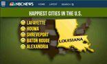 Top 5 U.S. Happiest Cities are in Louisiana
