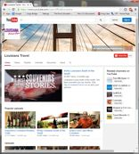 Official Louisiana Tourism YouTube web page