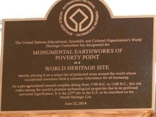 Poverty Point Marker