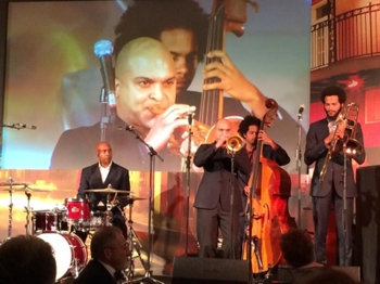 Irvin Mayfield and the New Orleans Jazz Orchestra.