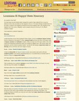 Louisianatravel.com Happy State Itinerary