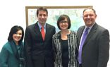 Louisiana travel industry delegates with U.S. Congressman Garret Graves