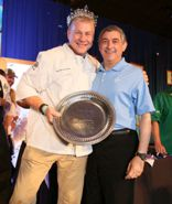 Chef Mike Brewer and Lt. Gov. Jay Dardenne