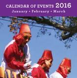 Calendar of Events 2016 Q1