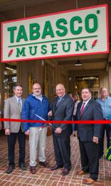 Pictured from left to right: Cecil Hymel, McIlhenny Company vice president of administration, Harold Osborn, McIlhenny Company senior vice president of agriculture, Tony Simmons, McIlhenny Company president & CEO and Lieutenant Governor Billy Nungesser.