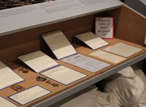 A selection of items in the Josiah P. Hammond Display at Port Hudson State Historic Site.